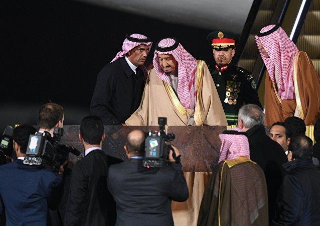 الملك سلمان في موسكو