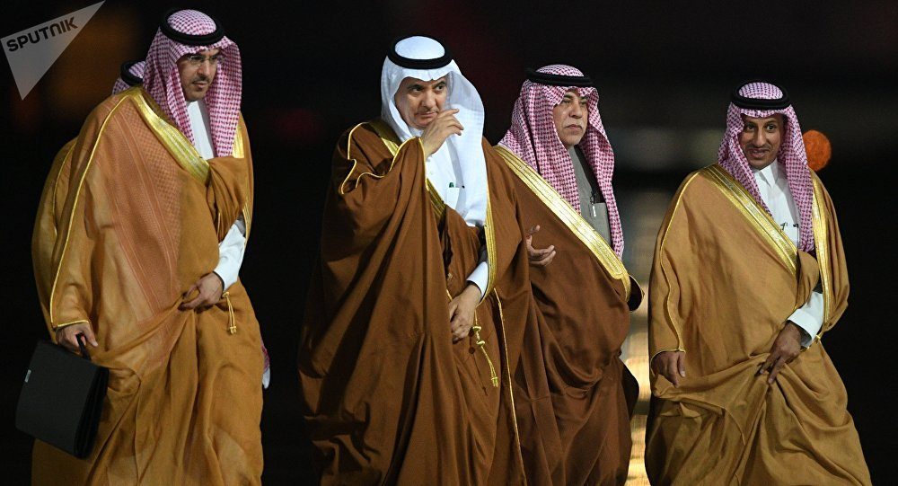 وصول الملك السعودي سلمان بن عبدالعزيز آل سعود إلى موسكو، روسيا