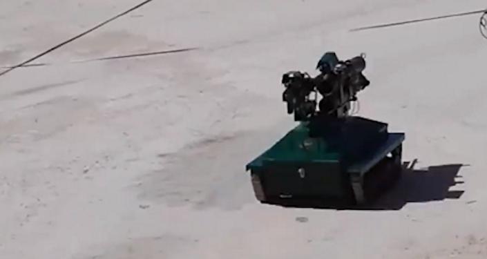 روبوت قتالي