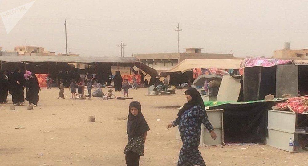 مخيم عائلات داعش