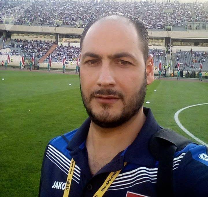 المنسق الإعلامي للمنتخب السوري بكرة القدم بشار محمد