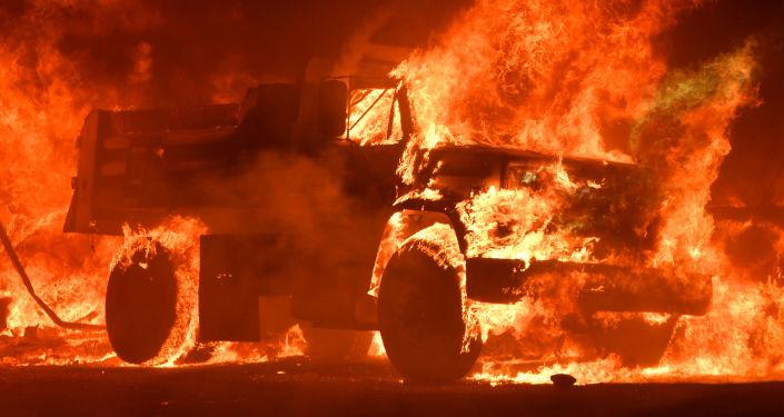 حرائق هائلة في ولاية كاليفورنيا، الولايات المتحدة 9 أكتوبر/ تشرين الثاني 2017