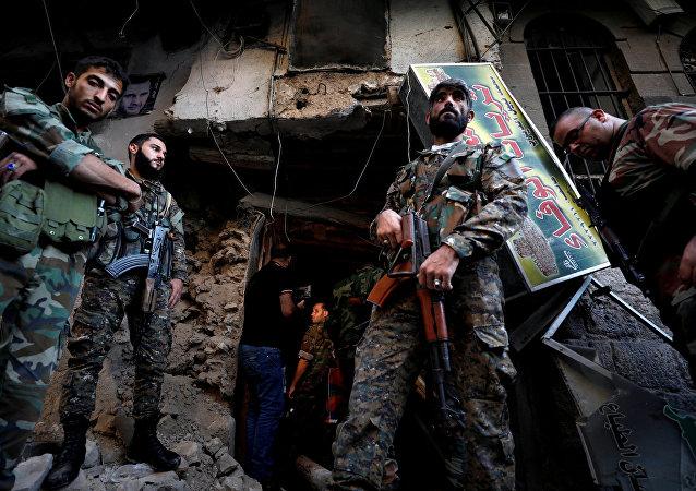 تفجير دمشق الإرهابي