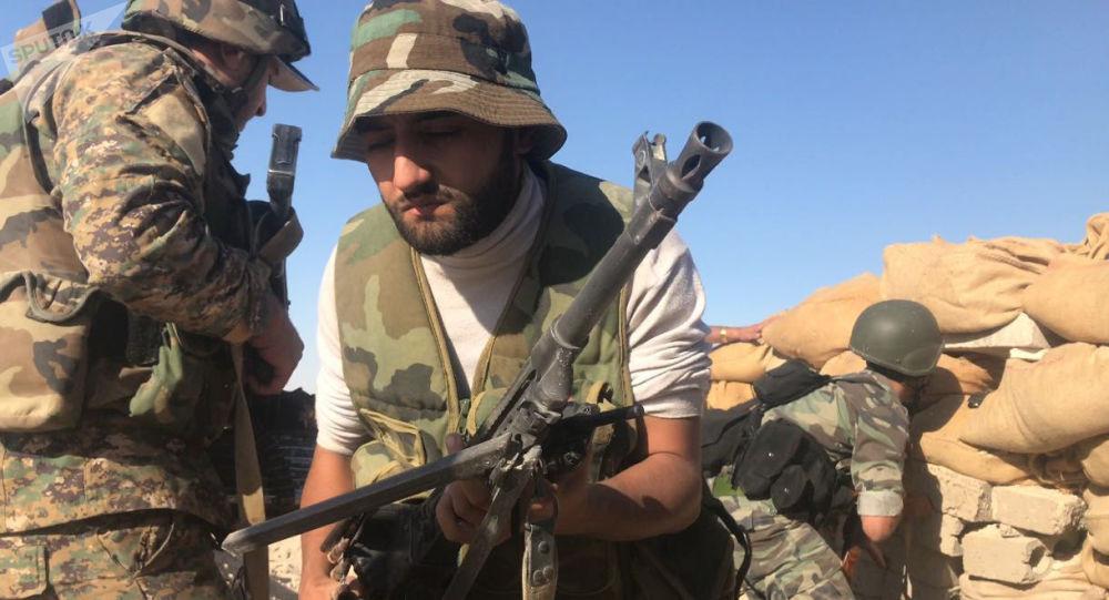 تقدم قوات الجيش السوري في دير الزور، سوريا