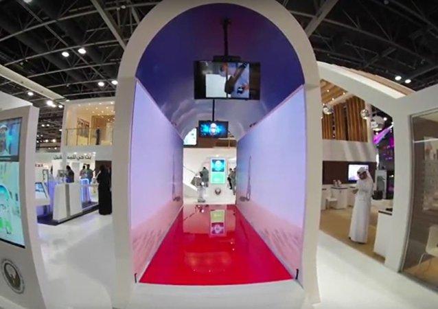 الممر الذكي في مطار دبي