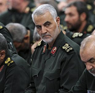 قائد الحرس الثوري الإيراني قاسم سليماني