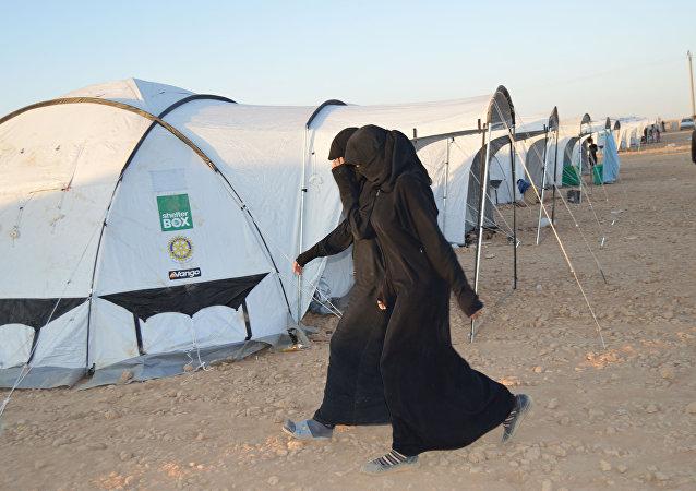 مخيم لاجئين عين عيسى
