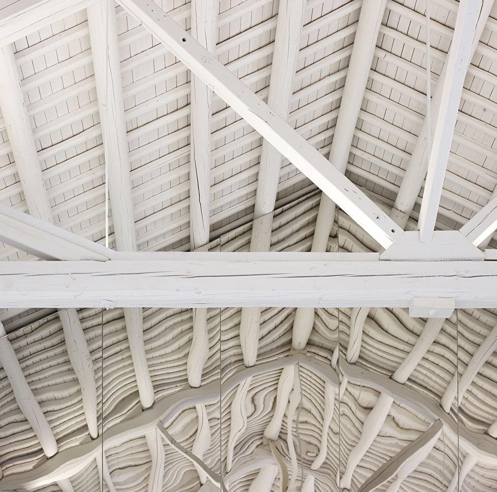 متحف تيانرينهي في الصين للمصور جينفي وانغ، المتأهل للنهائي في فئة التصميم الداخلي