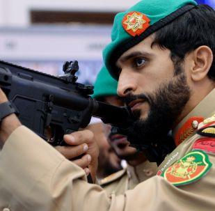 المعرض العسكري الدولي في البحرين (BIDEC-2017) - قائد الحرس الملكي البحريني الأمير الشيخ  ناصر بن حمد آل خليفة