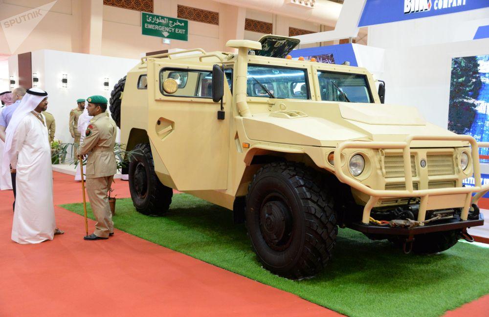 المعرض العسكري الدولي في البحرين (BIDEC-2017) - المدرعة تيغر الروسية