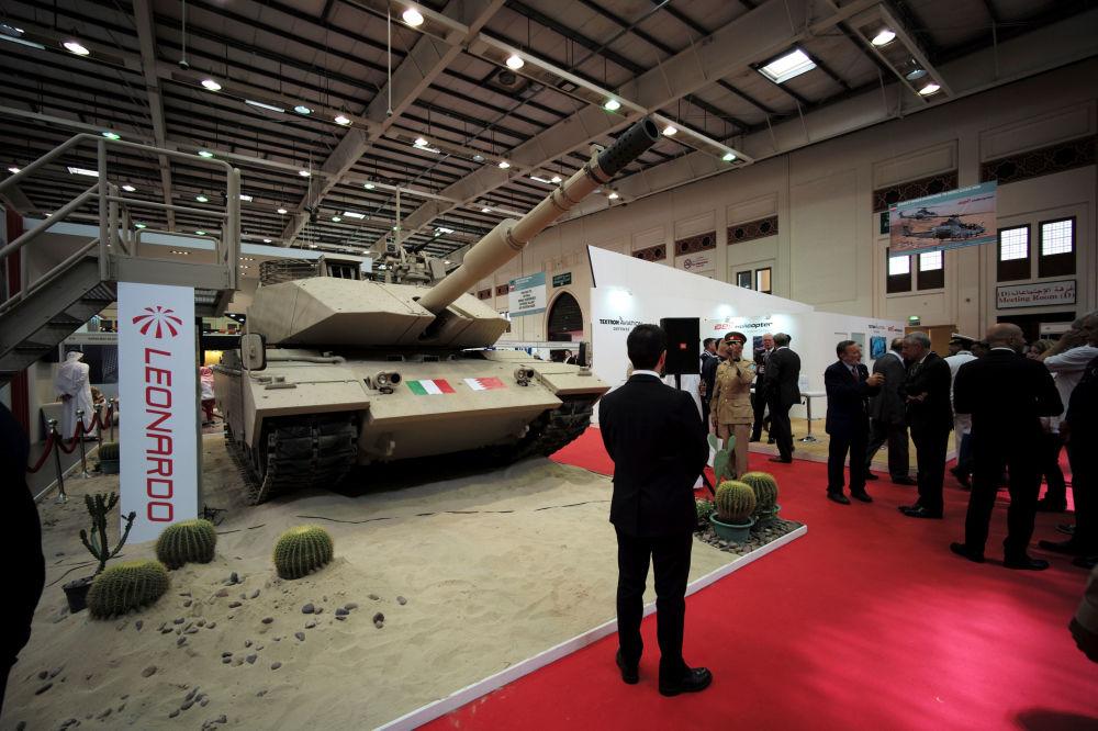 المعرض العسكري الدولي في البحرين (BIDEC-2017) - الدبابة Leonardo's M60A3