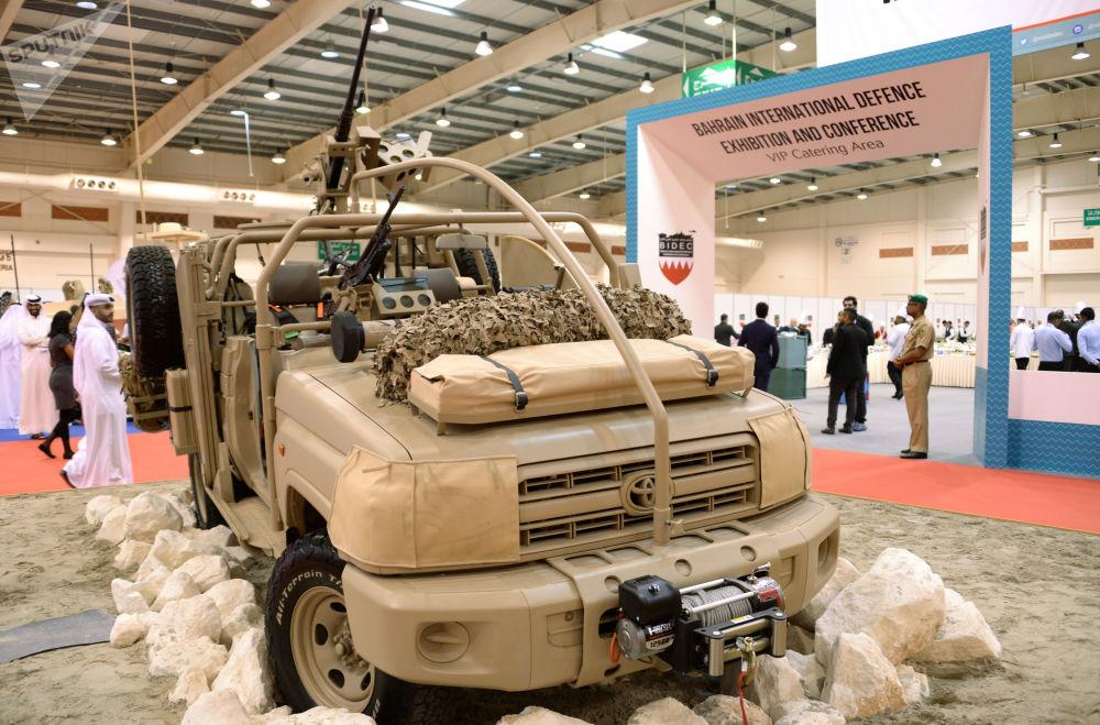 المعرض العسكري الدولي في البحرين (BIDEC-2017) - وحدات عسكرية في المعرض