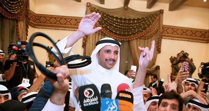 رئيس البرلمان الكويتي، مرزوق علي الغانم