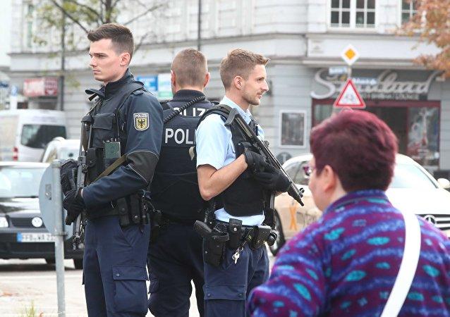 الشرطة الألمانية في ميونغ بعد حادثة الطعن
