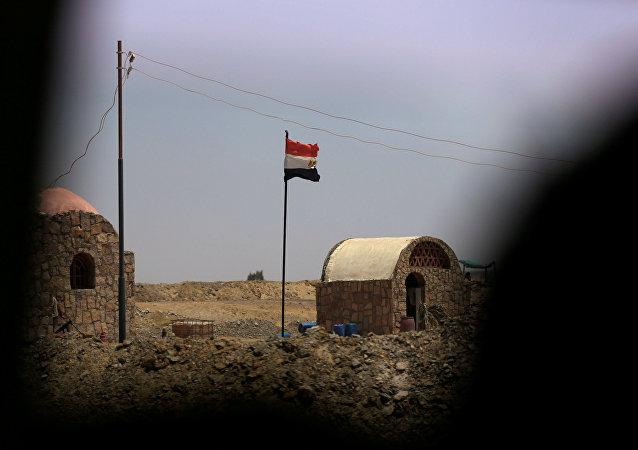 ثكنة أمنية في واحة سيوة في مصر