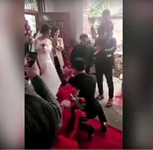 عروس ترفض الزفاف