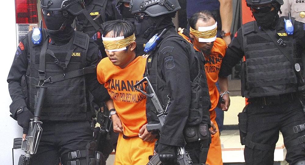 الشرطة الاندونيسية