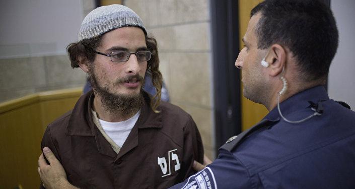 رئيس المجموعة اليهودية المتطرفة مئير اتينجر يظهر في المحكمة في الناصرة