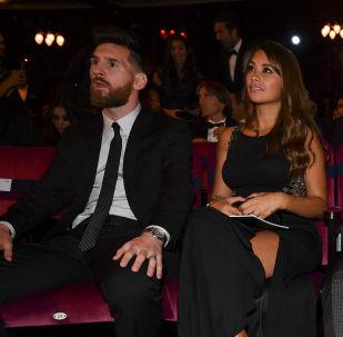 حفل توزيع جائزة الأفضل في 2017 والمقدمة من الاتحاد الدولي لكرة القدم فيفا في بريطانيا 23 أكتوبر/ تشرين الأول 2017