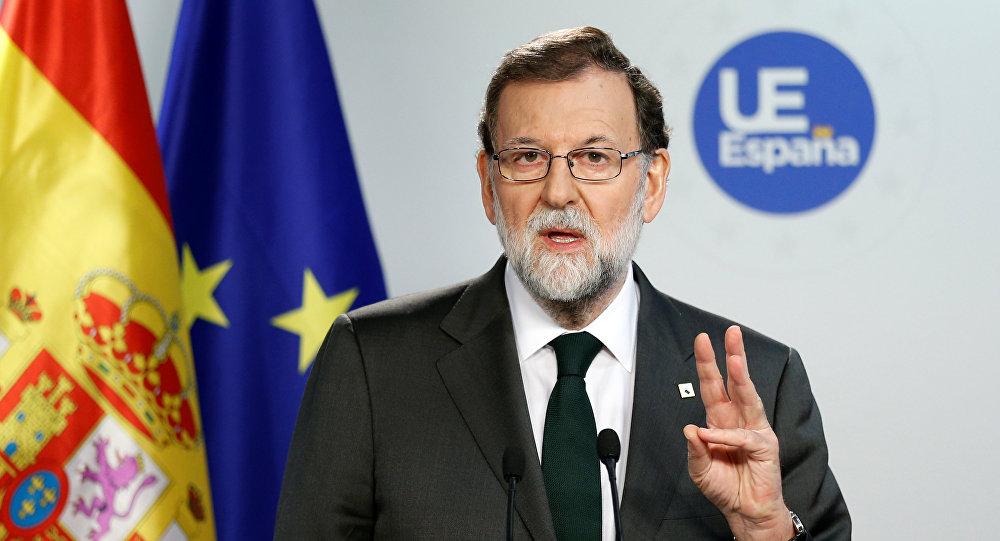 رئيس وزراء إسبانيا ماريانو راخوي