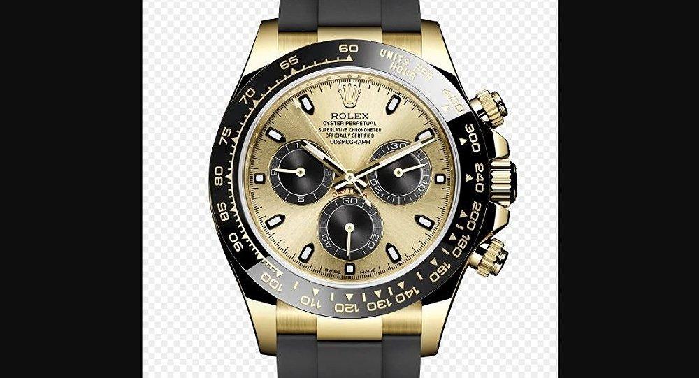 57f92eed4 مجهول يشتري أغلى ساعة