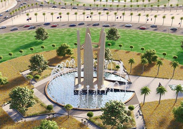 رمز الصداقة الروسية المصرية في شرم الشيخ