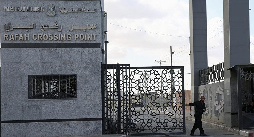 الحدود بين قطاع غزة ومصر - معبر رفح البري