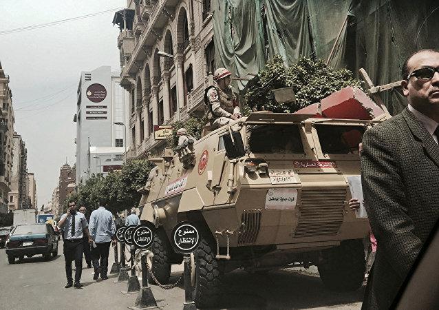 قوات الأمن المصرية - الجيش المصري - القاهرة، مصر