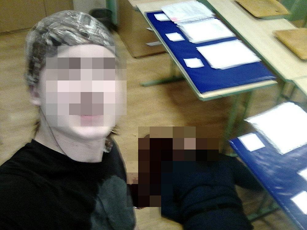 القاتل ينشر صورة سيلفي لمسرح الجريمة في موسكو