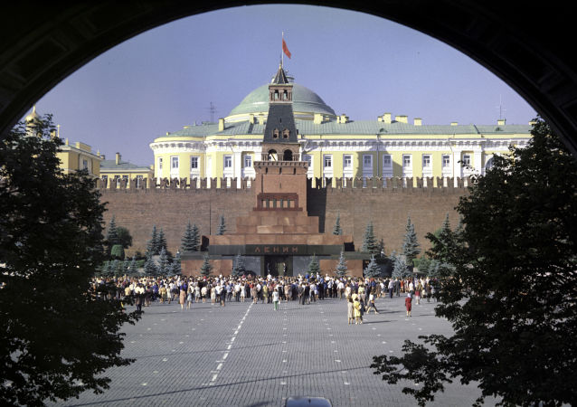 الساحة الحمراء، موسكو، الاتحاد السوفيتي