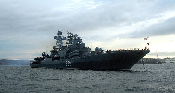 الأسطول الشمالي أدميرال تشابانينكو الروسي لاستئناف مهمة مكافحة القرصنة في الصومال في أواخر نوفمبر