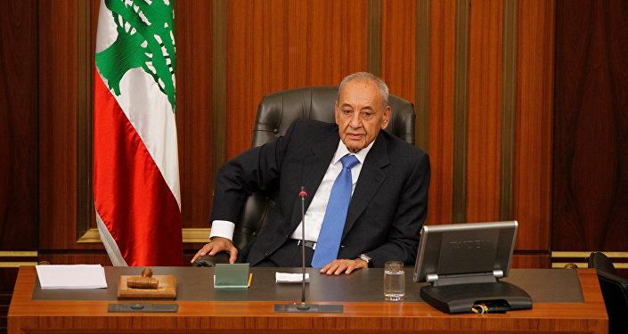 رئيس البرلمان اللبناني نبيه بري