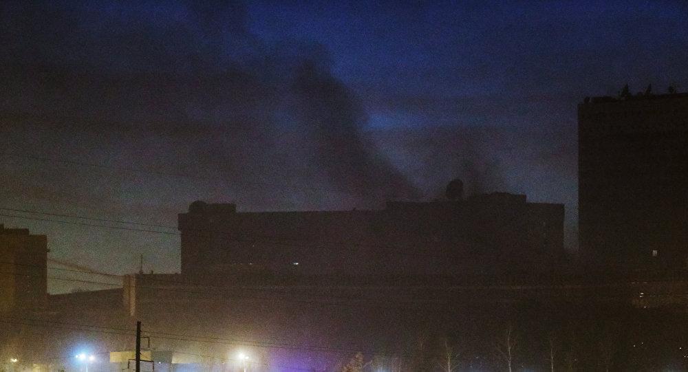 حريق في أحد المواقع التقنية التابعة لجهاز الاستخبارات الخارجية الروسية في موسكو