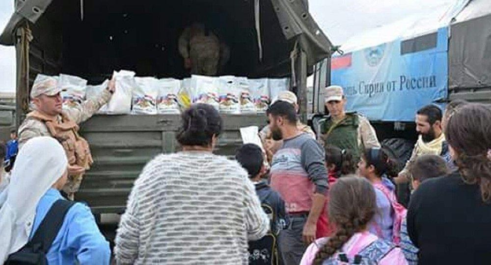 مساعدات روسية