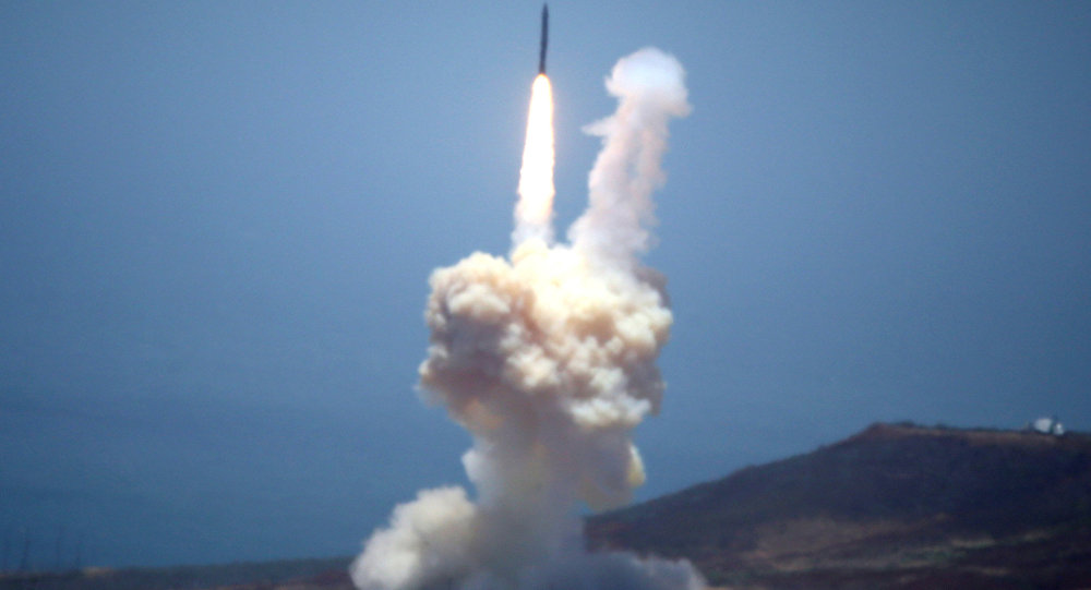 صاروخ بالستي تابع لنظام الدفاع المضاد للصواريخ الأمريكي