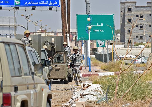 منفذ بري اليمن