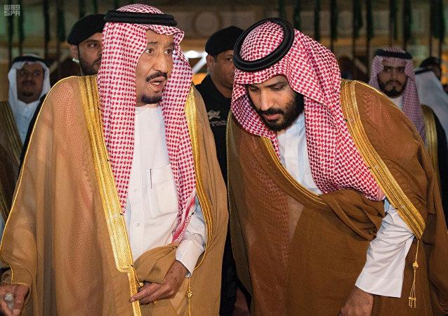 الملك سلمان والأمير محمد بن سلمان