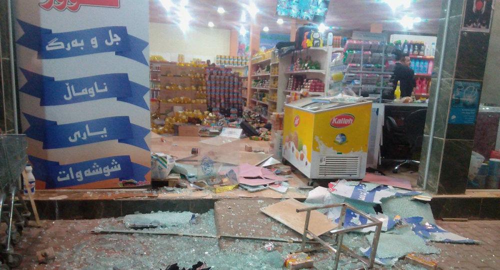 زلزال في حلبجة، العراق 12 نوفمبر/ تشرين الثاني 2017