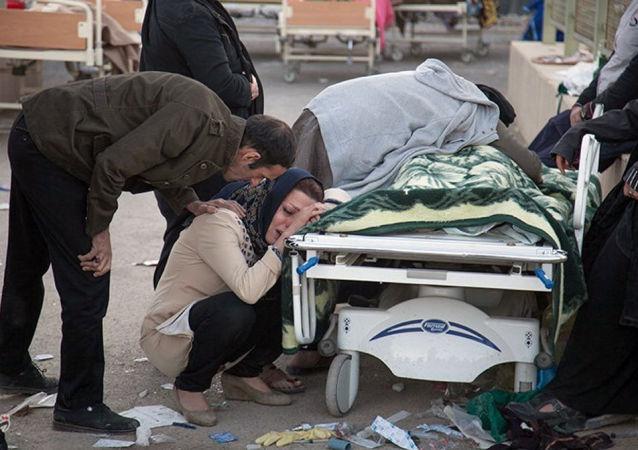 زلزال في كرمانشاه، إيران 12 نوفمبر/ تشرين الثاني 2017