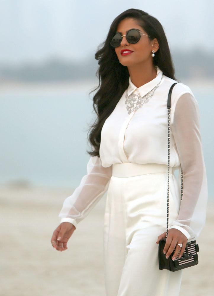 الأميرة السعودية أميرة الطويل في دبي، الإمارات 13 مايو/ أيار 2014