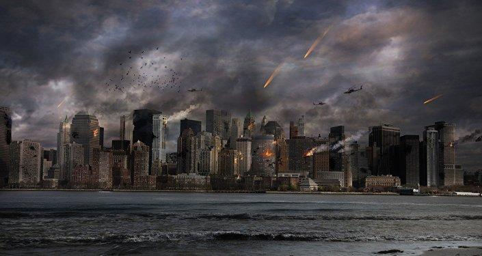 Apokalypse (Symbolbild)
