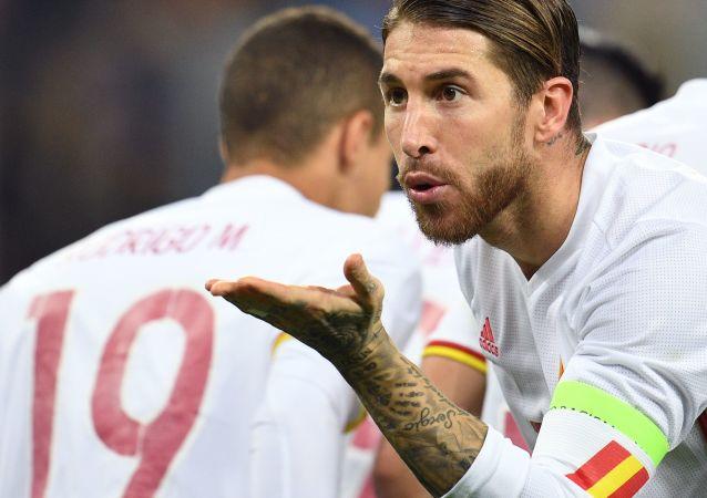 مباراة ودية بين روسيا وإسبانيا - سيرخيو راموس