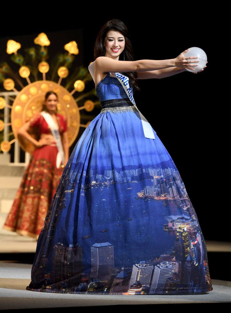 ملكة جمال ميس انترناشنال 2017 في طويكيو، اليابان 14 نوفمبر/ تشرين الثاني 2017 - ممثلة هونغ كونغ وينغ وونغ