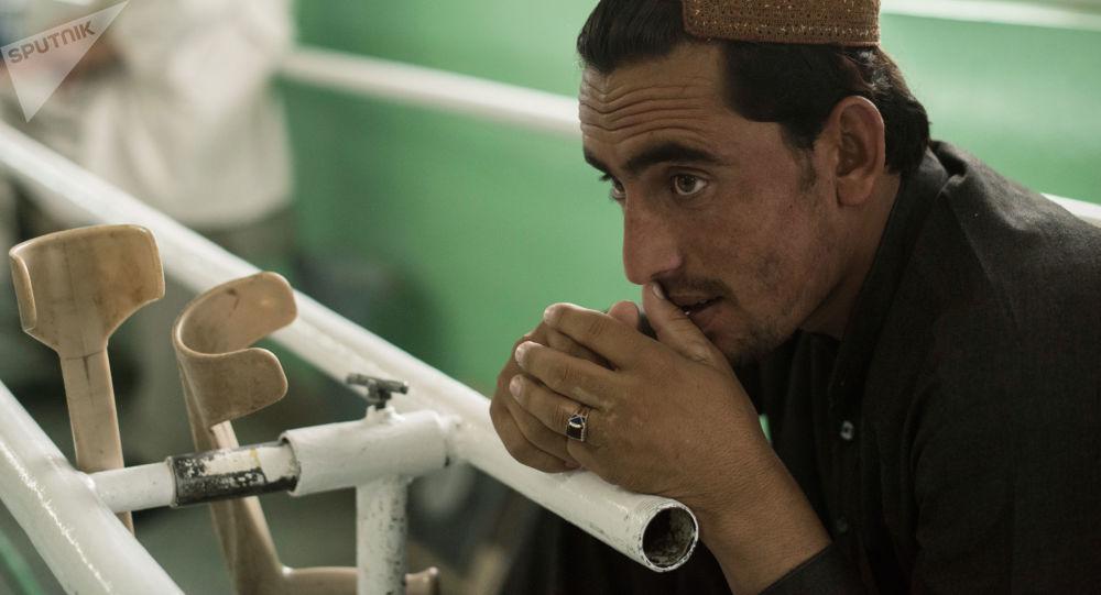 عيادة العظام في كابول، أفغانستان