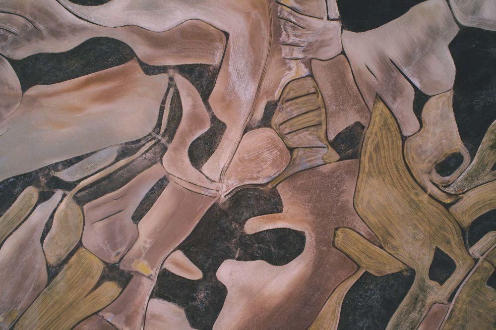 صورة قماش الأرض - في منطقة أراغون الإسبانية
