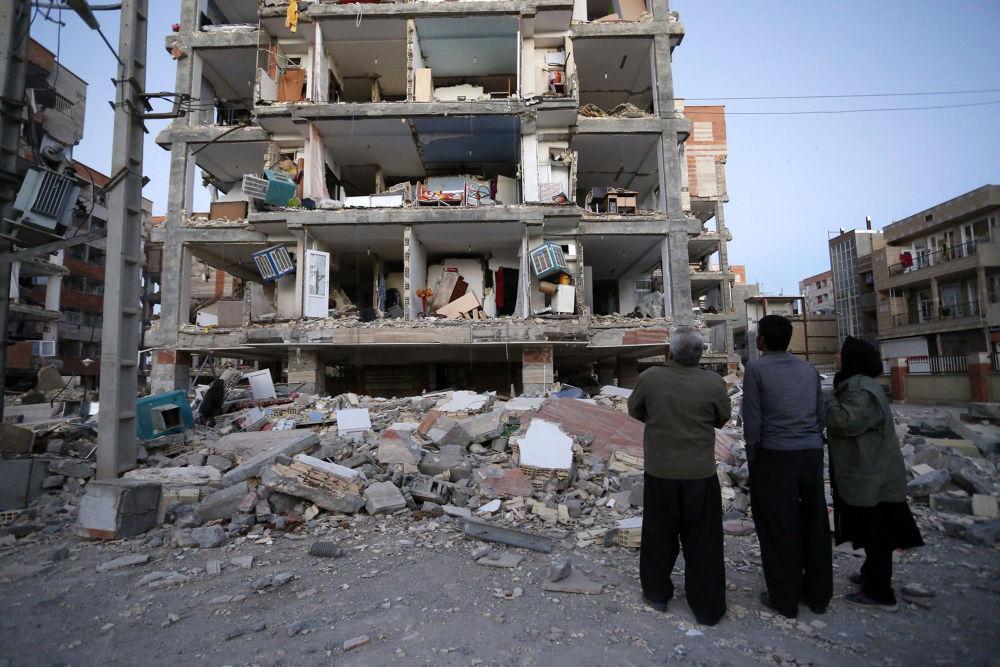 آثار الزلزال المدمر في إيران 13 نوفمبر/ تشرينم الثاني 2017