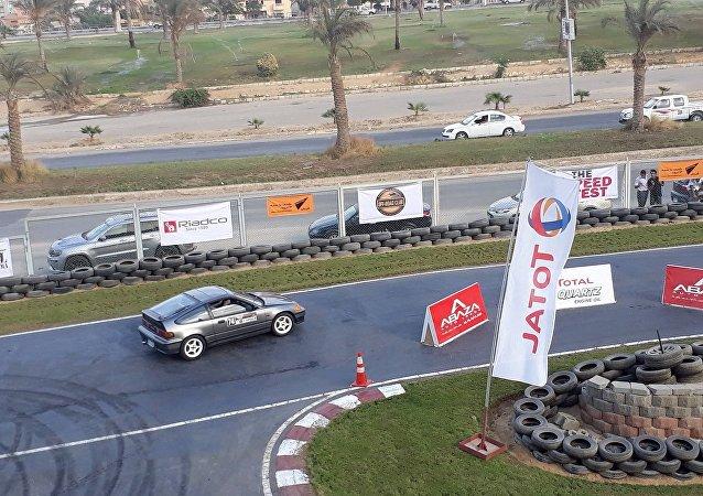 سباق السرعة للسيارات the speed test