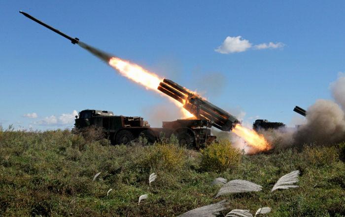 راجمات الجيش السوري تستهدف نقاط