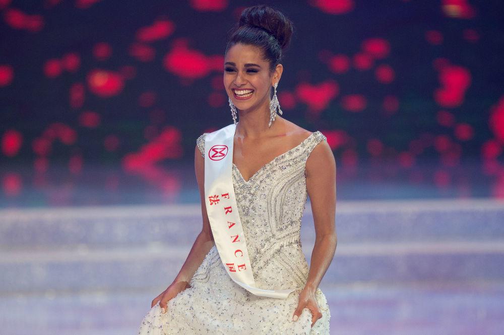 مسابقة ملكة جمال العالم 2017 في جزيرة هاينان في الصين - ممثلة فرنسا أورورا أندريي رافايل