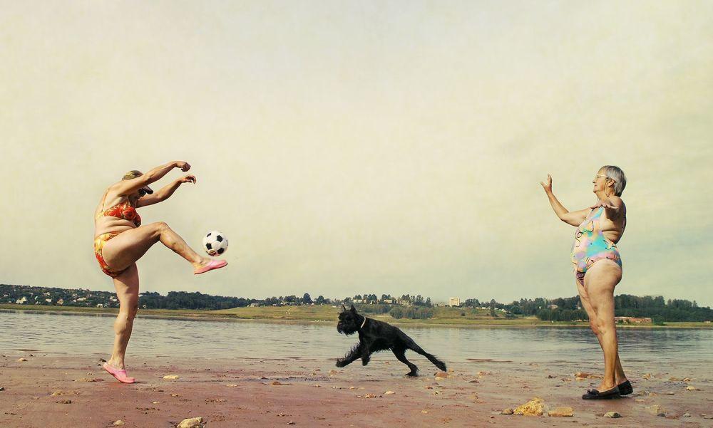 صورة بعنوان حركات بسيطة للمصور بيتر لوفيغين، الحائز على المرتبة الثالثة في فئة اللون العام